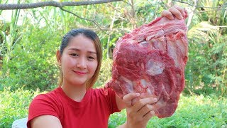 Yummy Pork Rib Grilling With Chili Sauce - Pork Rib Grilling - Cooking With Sros