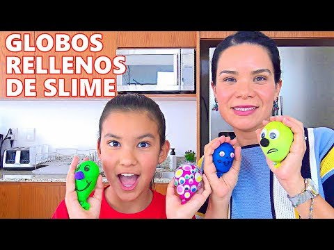 Globos Rellenos De SLIME | AnaNana Toys