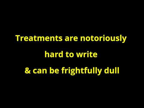 How to write a treatment for a film script