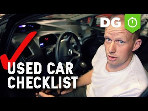 12 Things To Check Before Buying A Used Car