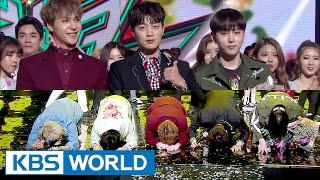HIGHLIGHT's 'Big Bow' Ceremony [Music Bank / 2017.03.31]