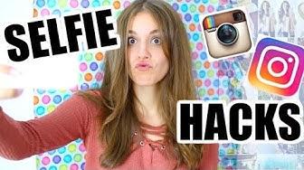 12 SELFIE HACKS für tolle Instagram Fotos mit deinem HANDY! ♡ BarbieLovesLipsticks