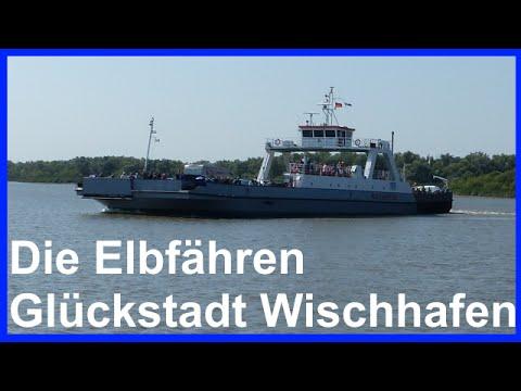 Elbfähre zwischen Wischhafen und Glückstadt