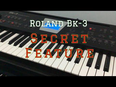 Roland BK-3 Review - Secret Feature