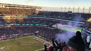 Philadelphia Eagles vs Atlanta Falcons Divisional Round playoff Introduction 1/13/18