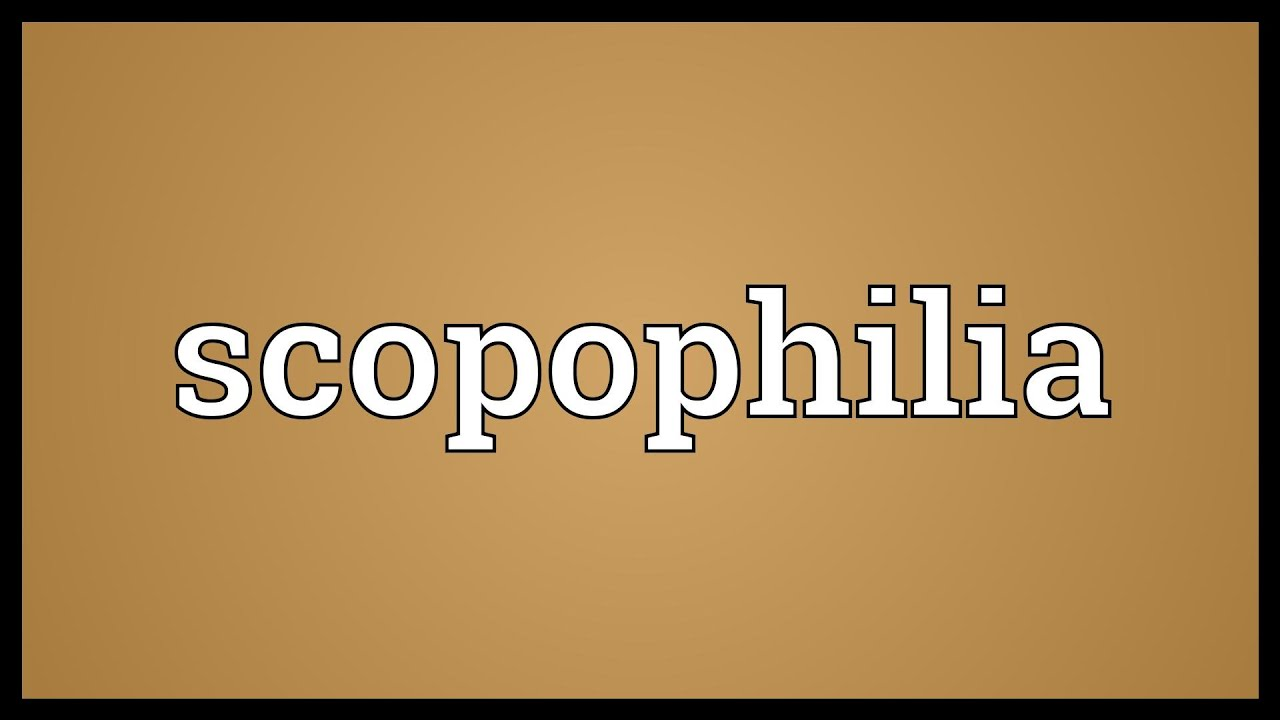 Scopophilia psychoanalysis and sexuality