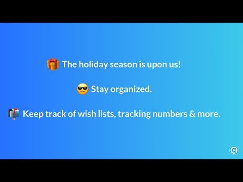 Using Qlearly for the Holiday Season.