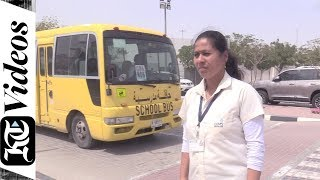 Dubai school bus conductor who fought against all odds