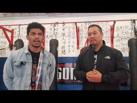 Dragon House 29 David Ortega Pre fight interview.
