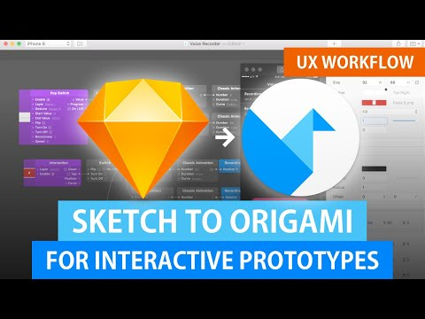 Sketch to Origami Tutorial   Interactive UX Prototyping thumbnail