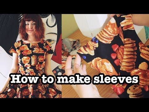 how-to-make-cap-sleeves