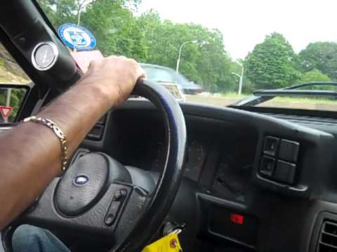 Sunday Evening Cruise In 88 Turbo Mustang DeathTrap