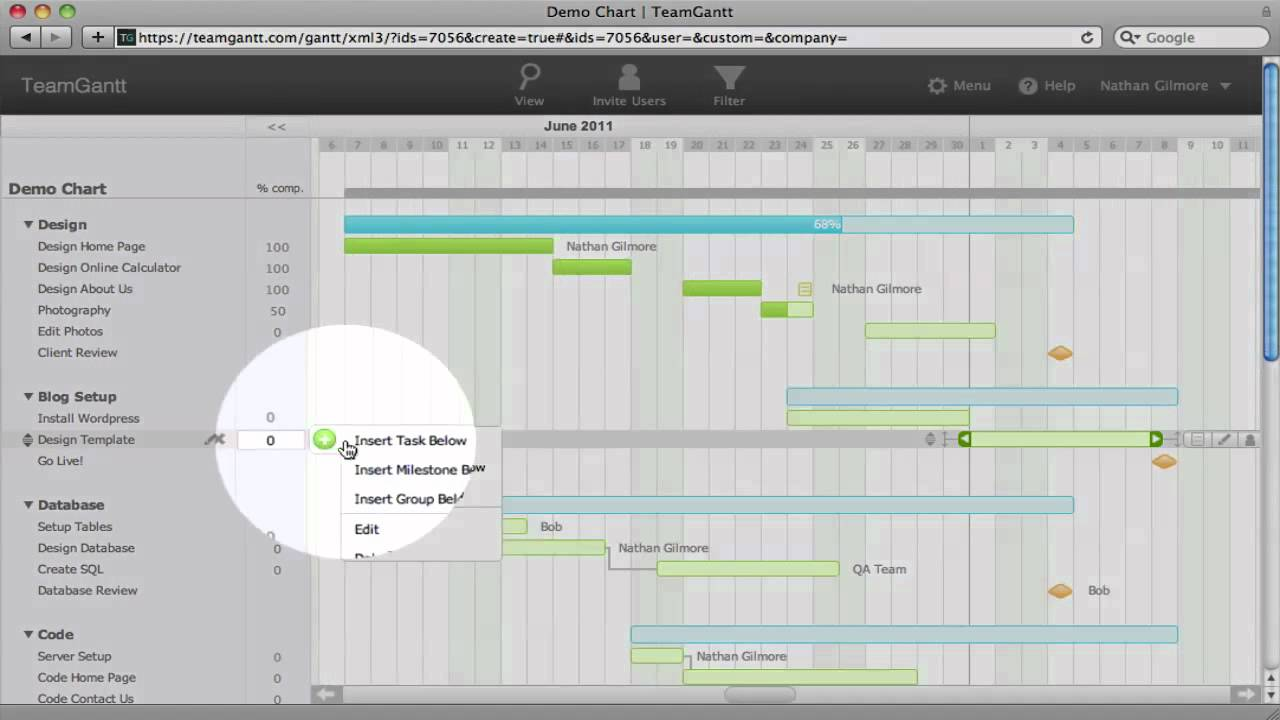Overview adding tasks to your gantt chart youtube overview adding tasks to your gantt chart nvjuhfo Choice Image
