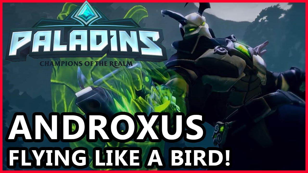 androxus paladins how to get revolver