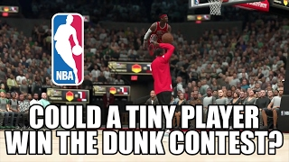 Could a TINY player win The NBA Dunk Contest?