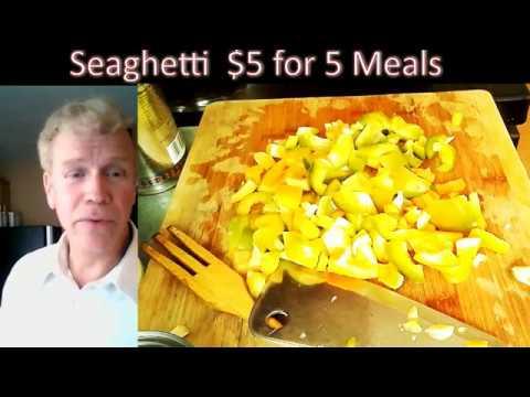 Seaghetti $5 for 7 Meals!