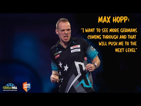 """Max Hopp: """"I want to see more Germans coming through and that will push me to the next level"""""""
