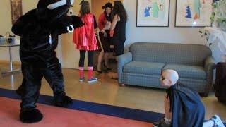 Elijah Kicks Bull at Halloween carnival (Daily #435)