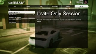 GTA Online: How-to create a private session on the PS4