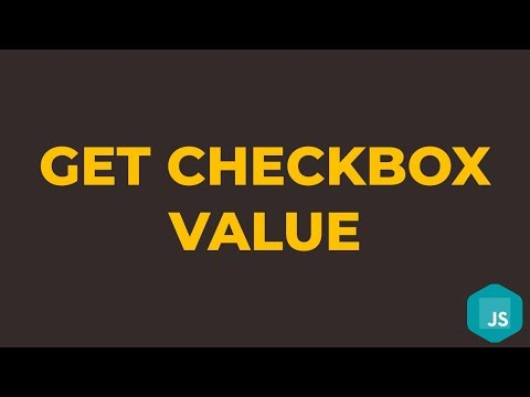 How To Get Checkbox Value In Javascript
