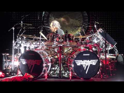 Van Halen: Alex's Drum Solo  Live At Red Rocks In 4K 2015 U.S. Tour