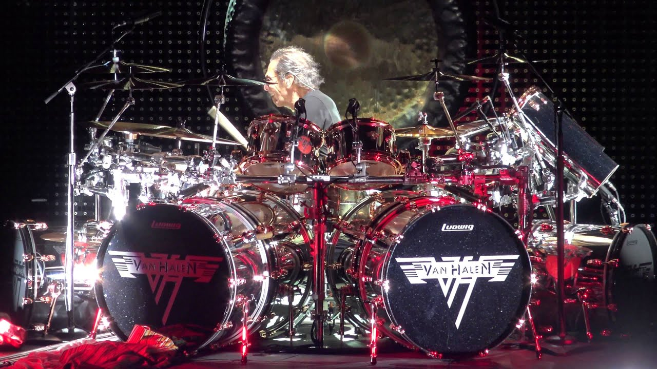 Van Halen Alex S Drum Solo Live At Red Rocks In 4k 2015 U S Tour Youtube