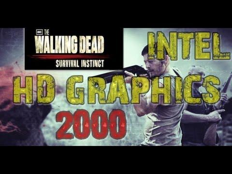 Intel HD Graphics 2000:The Walking Dead Survival Instinct - YouTube