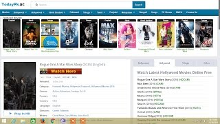 TODAYPK Download Movies with Torrent || 2016