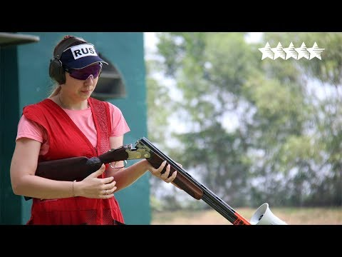 Shotgun Skeet Women Final - 2018 FISU WUC Shooting Sport  Kuala Lumpur, Malaysia
