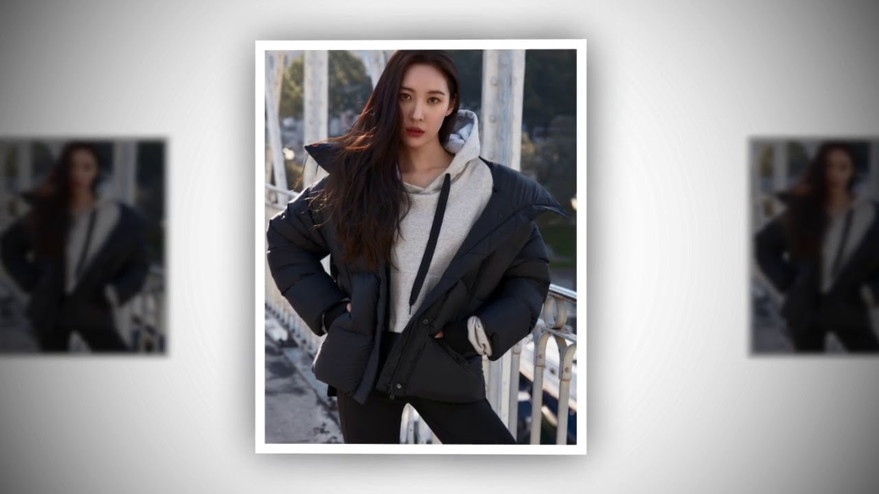 Lee sunmi photoshoot for head sports fall winter 2019 - 2019 year
