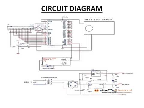 heart beat monitoring system project ppt youtube rh youtube com circuit diagram preselector circuit diagram p1403me timer