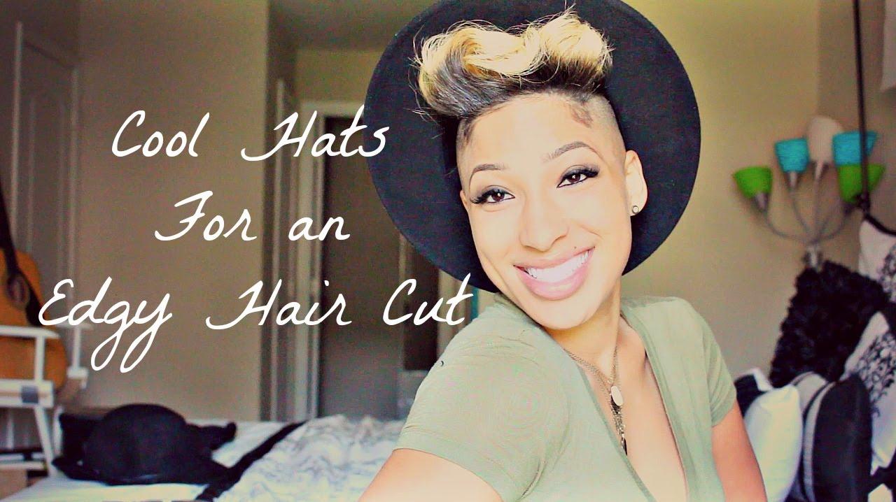 5bd031e96fc1e Cool Hats for an Edgy Hair Cut - YouTube