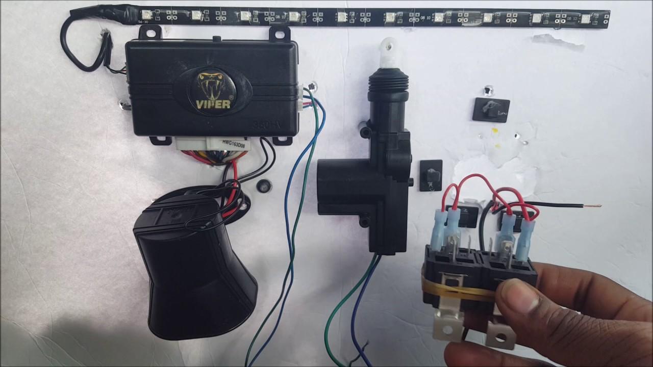 Relay Wiring Diagram Door Locks