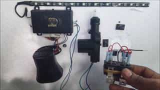 How To Wire Up A 5 Wire Door lock Actuator Relay From Start To finish Very  Easy - YouTubeYouTube