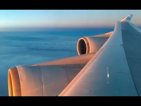 (HD) Full Flight - KLM Royal Dutch Airlines Boeing 747-400, LAX to Amsterdam Schiphol Int'l Airport