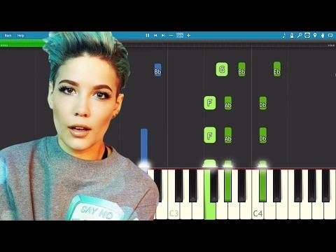 How To Play Sorry On Piano - Halsey - Piano Tutorial - Instrumental