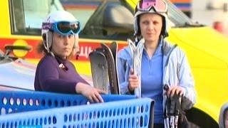 Ажиотаж в Красной Поляне: горные склоны открывают для катания(, 2014-12-26T09:12:52.000Z)