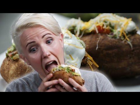 Taco Potato (As Made By Hannah Hart)