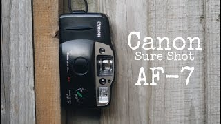 Canon Sure Shot AF-7 - Cheapest Awesome 35mm Film Point And Shoot? Video