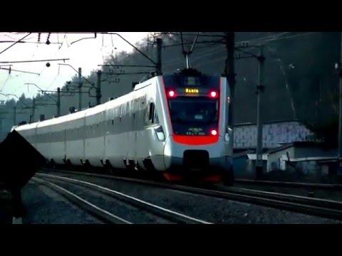 Kiev Lviv Inter City 743 Train Ukraine