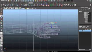 Maya Character Rigging (Session #1 -- part 2/6) -- Creating Joints for a Character Rig