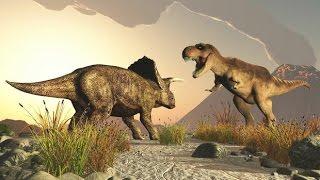 Сражения динозавров – смертельные бои гигантских монстров