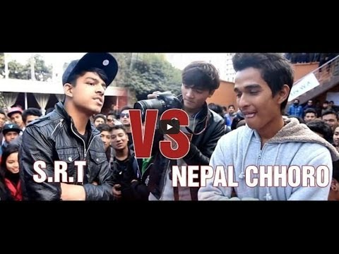 S.R.T  Vs Nepal Chhoro - Raw Barz (RAP BATTLE)