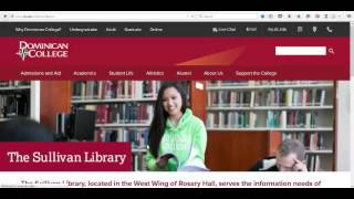 Interlibrary Loan (ILLiad) @ the Sullivan Library