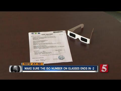 Metro Health Dept., TN State Museum Recalls Eclipse Glasses
