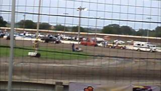 World Of Outlaws At Belleville High Banks Heat Races