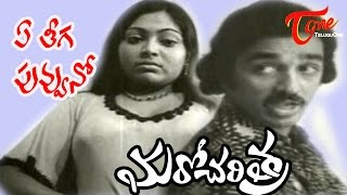 Ye Theega Poovuno(Sad) Song - Maro Charithra Movie Songs - Kamal Haasan & Saritha