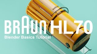 Blender Tutorial | Prop Design Braun HL70