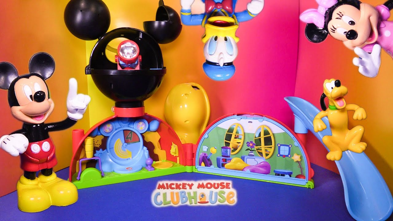 Unboxing the Mickey Mouse Clubhouse Playset