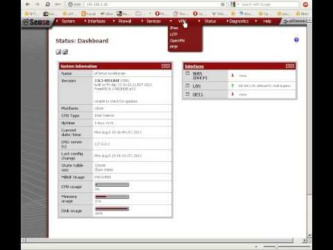 pfSense VPN, Part One: IPSec